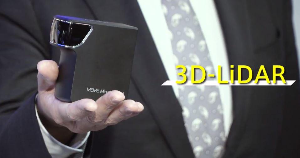 First look at the Pioneer MEMS Mirror 3D-LiDAR : MVIS